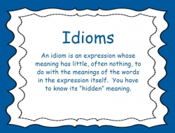 Idiomatic Expressions Book