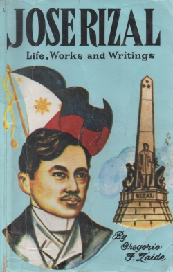 Jose Rizal Book By Zaide 2nd Ed